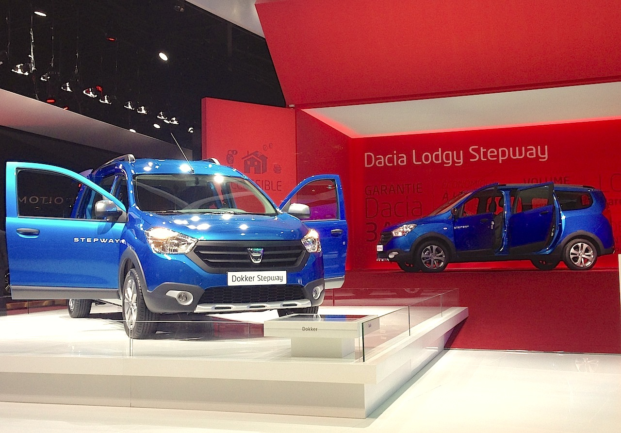 paris auto show 2014 an exclusive interview with dacia best selling cars blog. Black Bedroom Furniture Sets. Home Design Ideas
