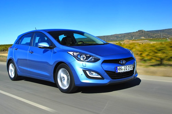 Hyundai i30 Sweden September 2014. Picture courtesy of largus.fr