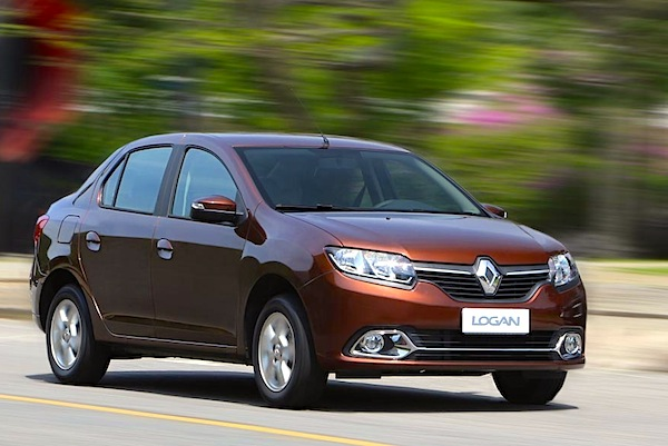 Renault Logan Egypt September 2014. Picture courtesy of uol.com.br