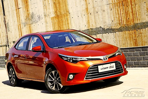 Toyota Levin China September 2014. Picture courtesy of pcauto.com.cn
