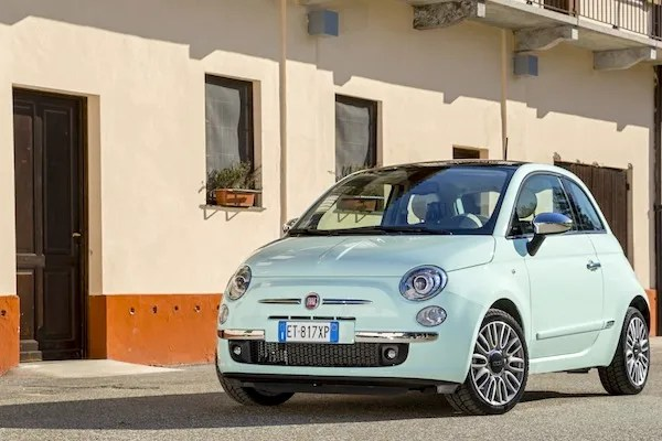 Fiat 500 Lithuania 2014. Picture courtesy of largus.fr