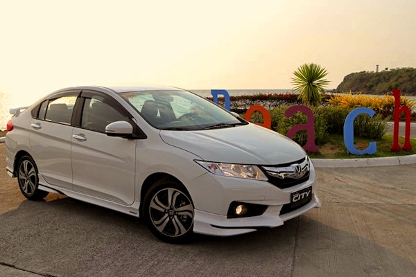 Honda City Vietnam September 2014. Picture courtesy of carguide.ph