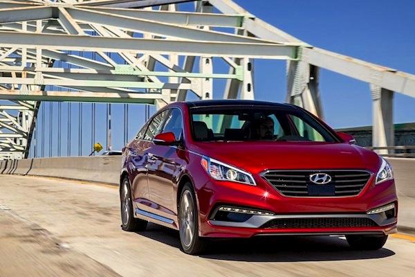 Hyundai Sonata South Korea 2014. Picture courtesy of caranddriver.com