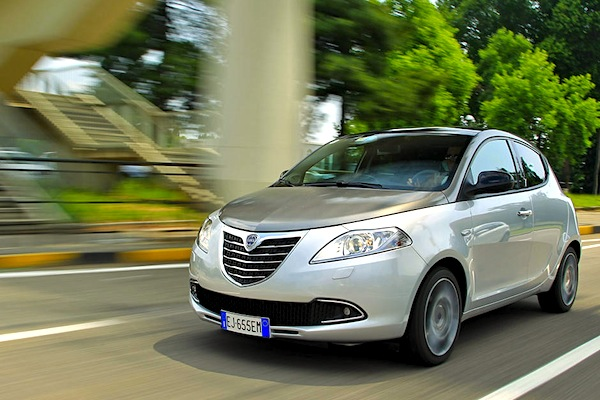 Lancia Ypsilon Italy September 2015. Picture courtesy of largus.fr