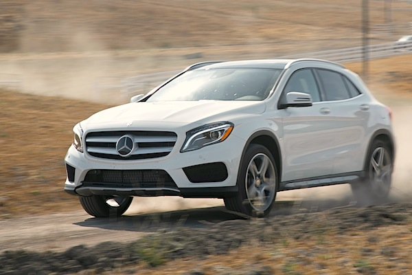 Mercedes GLA USA October 2014. Picture courtesy of motortrend.com