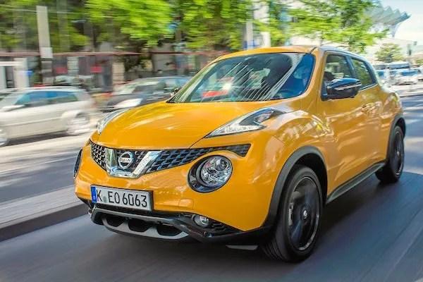 Nissan Juke Slovenia March 2015