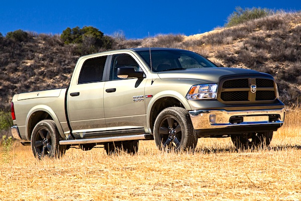 Ram 1500 USA October 2014. Picture courtesy of motortrend.com