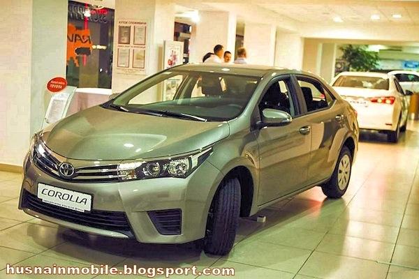Toyota Corolla Pakistan November 2014
