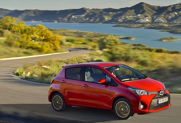 Toyota Yaris Greece October 2014. Picture courtesy of largus.fr