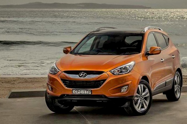 Hyundai ix35 Egypt October 2014. Picture courtesy of caradvice.com.au