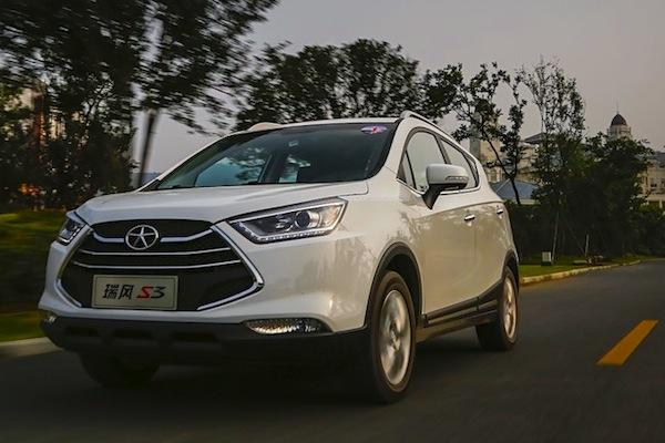 JAC Refine S3 China November 2014. Picture courtesy of auto.sohu.com