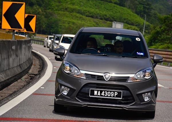 Proton Iriz Malaysia November 2014. Picture courtesy of paultan.org