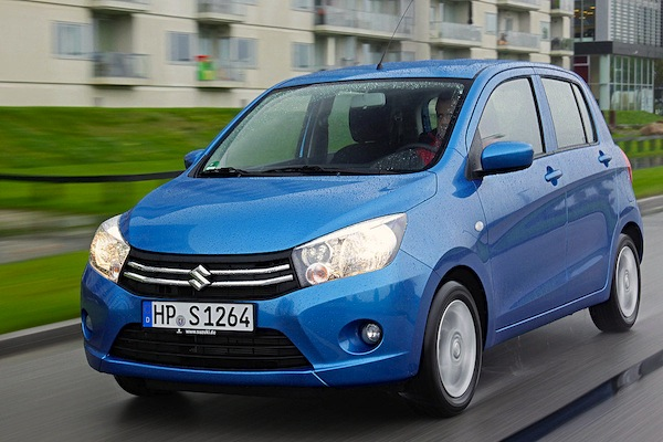 Suzuki Celerio Greece April 2015. Picture courtesy of autobild.de