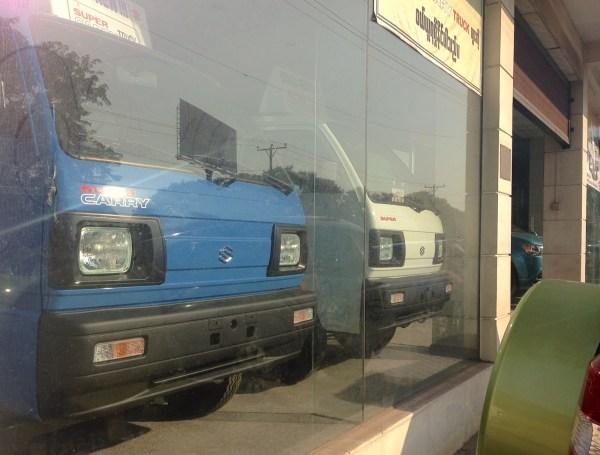 Suzuki Showroom Yangon 1