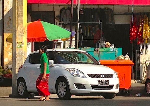 Suzuki Swift Yangon