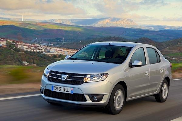 Dacia Logan Algeria 2014