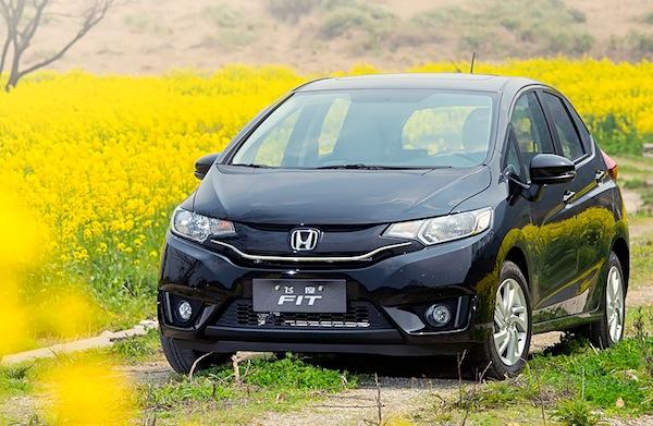 Honda Fit China December 2014. Picture courtesy auto.163.com