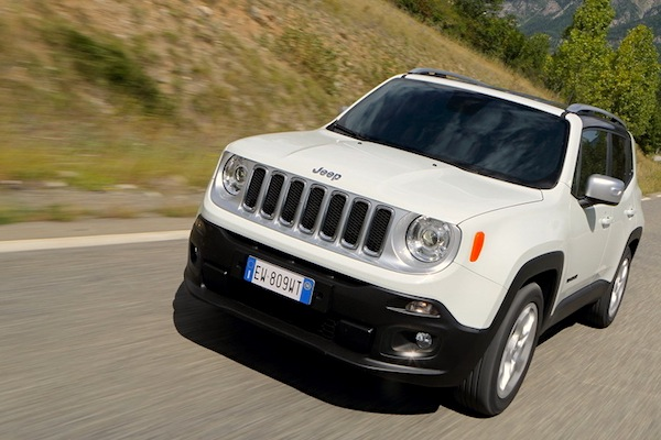 Jeep Renegade Italy June 2015. Picture courtesy of largus.fr