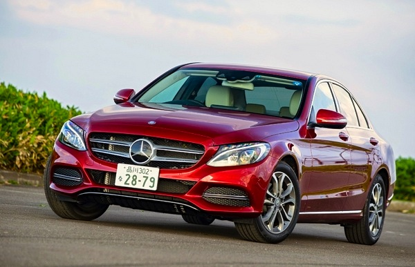 Mercedes C Class Japan March 2015. Picture courtesy of response.jp