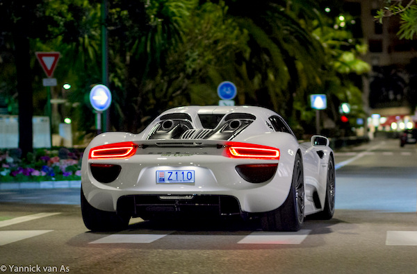 Porsche 918 Spyder Monaco 2014. Picture courtesy Yannick Van As
