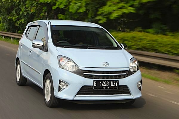 Toyota Agya Indonesia 2014. Picture courtesy of autobild.co.id