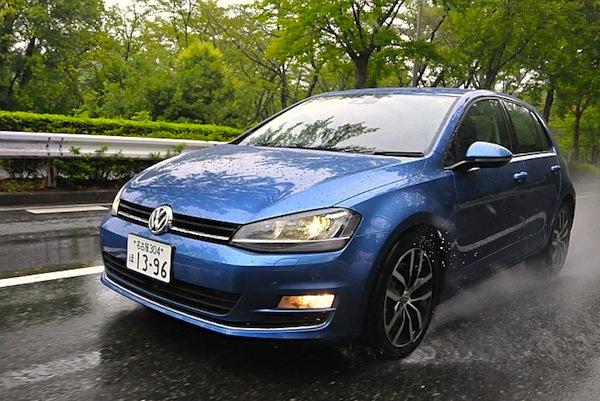 VW Golf Japan October 2015. Picture courtesy of motordays.com