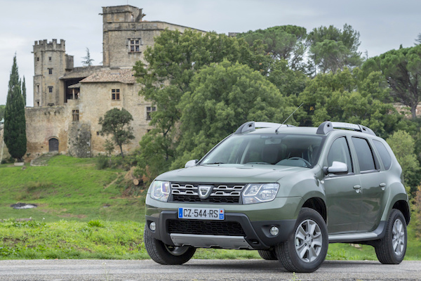 Dacia Duster ep Macedonia March 2016. Picture courtesy largus.fr