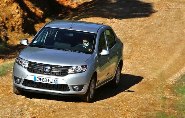 Dacia Logan Algeria January 2015. Picture courtesy largus.fr