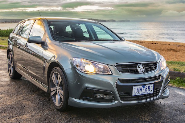 Holden Commodore New Zealand January 2015. Picture courtesy caradvice.com.au