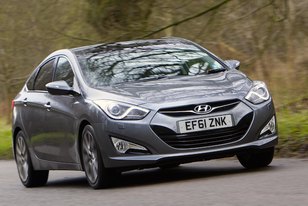 Hyundai i40 Ireland January 2015