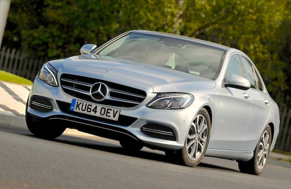 Mercedes C-Class England 2015. Picture courtesy whatcar.co.uk