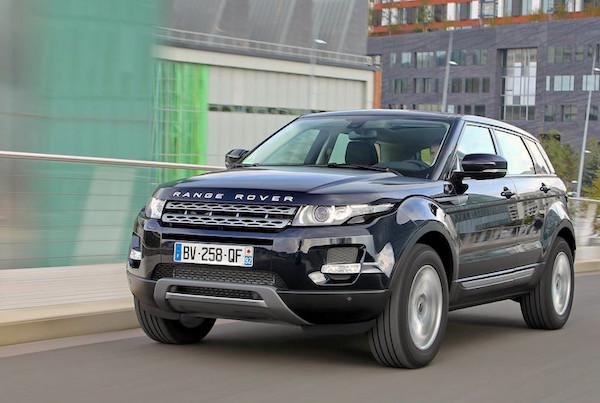 Range Rover Evoque Liechtenstein 2014. Picture courtesy largus.fr