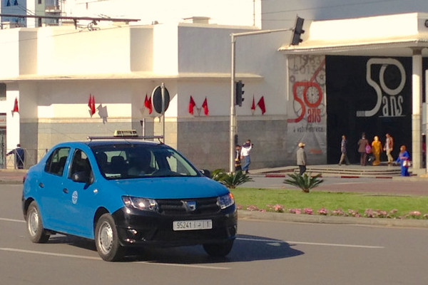 Dacia Logan Taxi Morocco 2014. Picture courtesy Flickr
