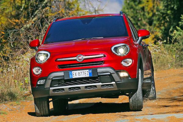 Fiat 500X France March 2015. Picture courtesy autobild.de