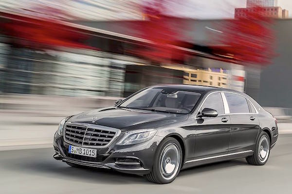 Mercedes-Maybach S 600 Hong Kong October 2015