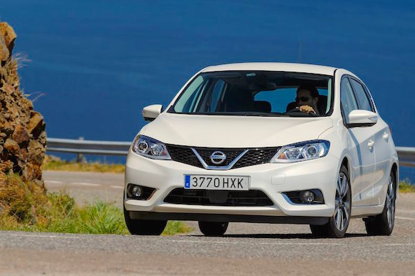 Nissan Pulsar Norway September 2016