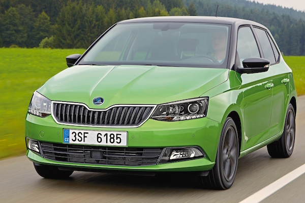 Skoda Fabia Czech Republic February 2015. Picture courtesy autozeitung.de