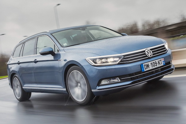 VW Passat Austria 2015. Picture courtesy largus.fr