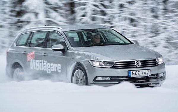 VW Passat Sweden February 2015. Picture courtesy vibilagare.se
