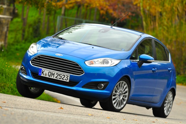Ford Fiesta Romania March 2015