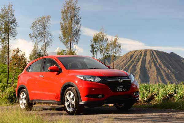 Honda HR-V Indonesia March 2015. Picture courtesy autobild.co.id