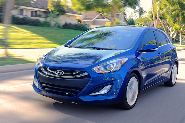 Hyundai Elantra USA March 2015. Picture courtesy motortrend.com