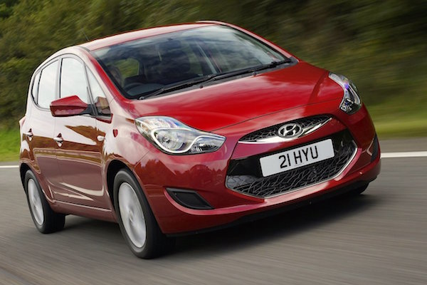 Hyundai ix20 Czech Rep March 2015