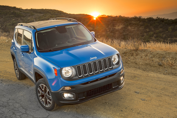 Jeep Renegade Brazil January 2016. Picture courtesy motortrend.com