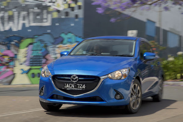Mazda2 Colombia October 2015. Picture courtesy caradvice.com.au