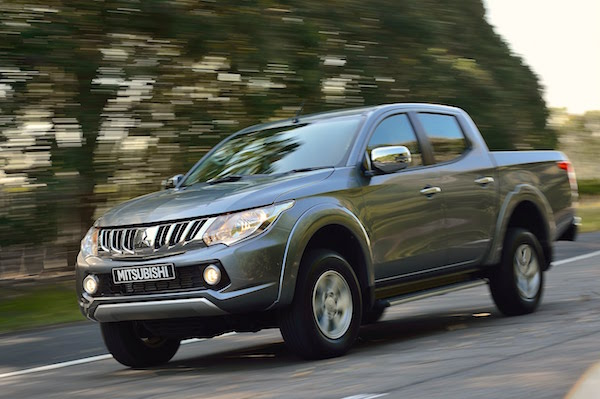 Mitsubishi Triton NZ March 2015