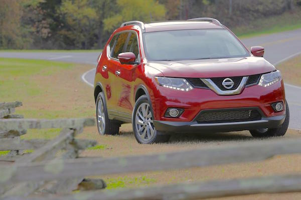 Nissan Rogue USA March 2015. Picture courtesy caranddriver.com