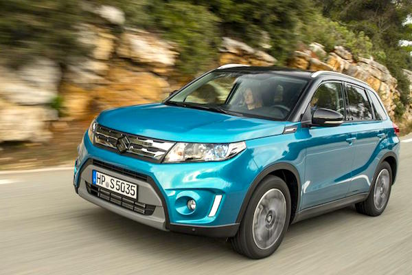 Suzuki Vitara Denmark May 2015. Picture courtesy whatcar.co.uk