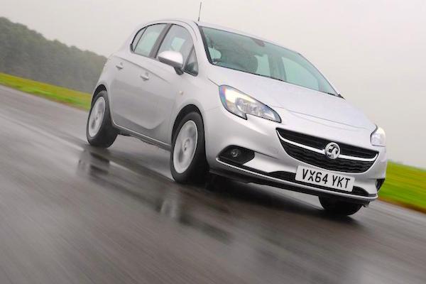 Vauxhall Corsa UK November 2015. Picture courtesy autoexpress.co.uk