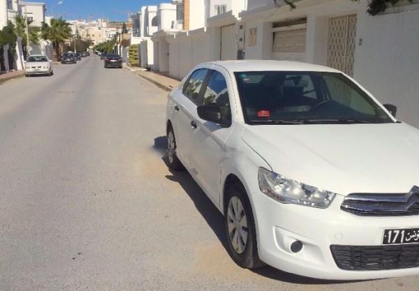 Citroen C-Elysee Tunisia 2014b. Picture courtesy tunisie-annonce.com